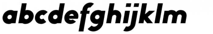 Bambino Black Italic Font LOWERCASE