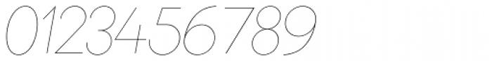 Bambino Extra Light Italic Font OTHER CHARS