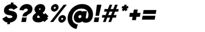Bambino New Heavy Italic Font OTHER CHARS