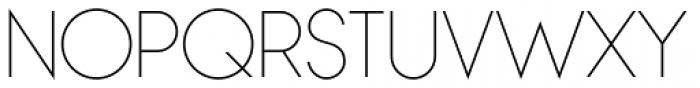 Bambino Thin Font UPPERCASE