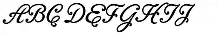 Bambola Font UPPERCASE