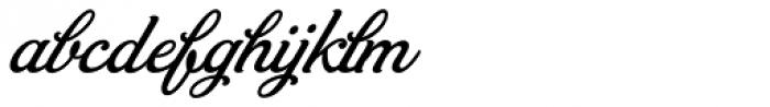 Bambola Font LOWERCASE