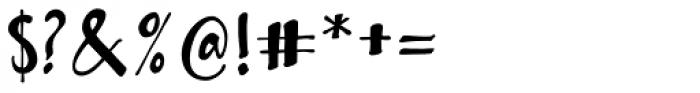 Bambusa Pro Basic Font OTHER CHARS