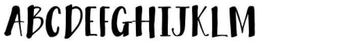 Bambusa Pro Basic Font UPPERCASE