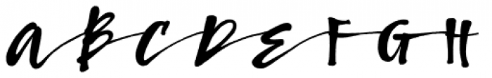 Bambusa Pro Bold Font UPPERCASE