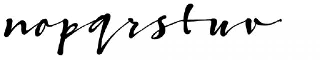 Bambusa Pro Bold Font LOWERCASE