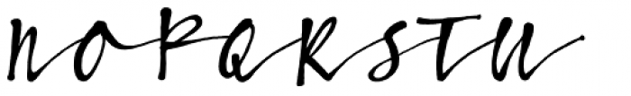 Bambusa Pro Regular Font UPPERCASE