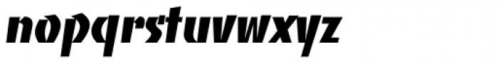 Banco Std Heavy Font LOWERCASE