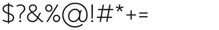 Banda Light Font OTHER CHARS