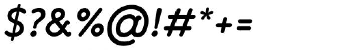 Banda SemiBold Italic Font OTHER CHARS