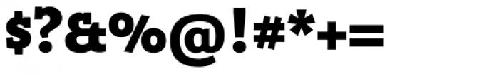 Bandera Cyrillic Heavy Font OTHER CHARS