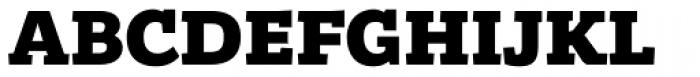 Bandera Cyrillic Heavy Font UPPERCASE