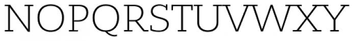 Bandera Cyrillic Light Font UPPERCASE