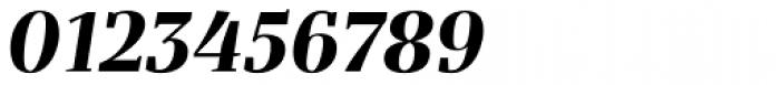 Bandera Display Bold Italic Font OTHER CHARS