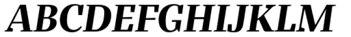 Bandera Display Bold Italic Font UPPERCASE