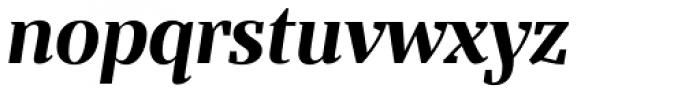 Bandera Display Bold Italic Font LOWERCASE