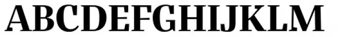 Bandera Display Cyrillic Bold Font UPPERCASE