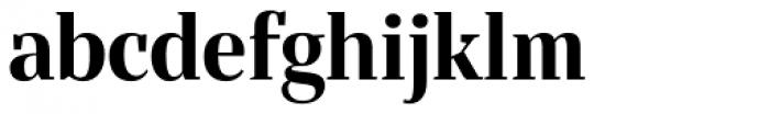 Bandera Display Cyrillic Bold Font LOWERCASE