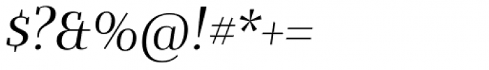 Bandera Display Cyrillic Italic Font OTHER CHARS