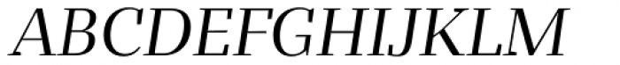Bandera Display Cyrillic Italic Font UPPERCASE