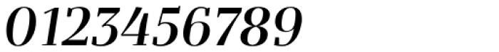 Bandera Display Cyrillic Medium Italic Font OTHER CHARS