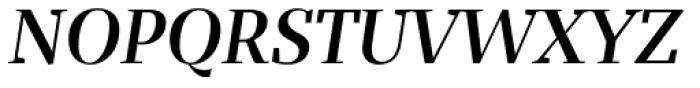 Bandera Display Cyrillic Medium Italic Font UPPERCASE