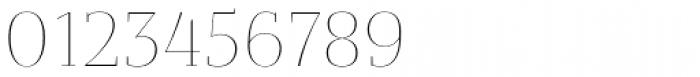 Bandera Display Cyrillic Thin Font OTHER CHARS