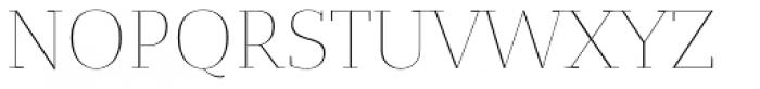 Bandera Display Cyrillic Thin Font UPPERCASE