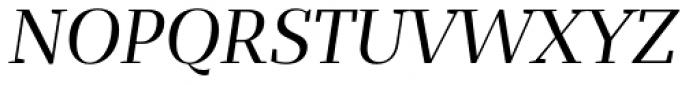 Bandera Display Italic Font UPPERCASE