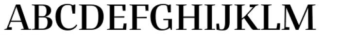 Bandera Display Medium Font UPPERCASE
