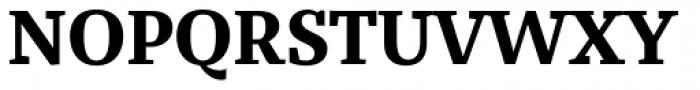 Bandera Text Bold Font UPPERCASE