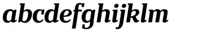 Bandera Text Cyrillic Bold Italic Font LOWERCASE