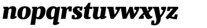 Bandera Text Cyrillic Heavy Italic Font LOWERCASE