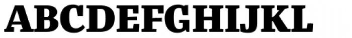 Bandera Text Cyrillic Heavy Font UPPERCASE