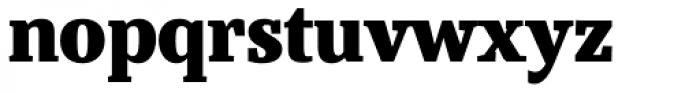 Bandera Text Cyrillic Heavy Font LOWERCASE