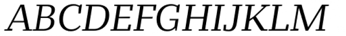 Bandera Text Cyrillic Italic Font UPPERCASE