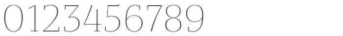 Bandera Text Cyrillic Thin Font OTHER CHARS