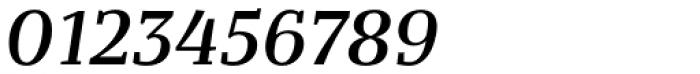 Bandera Text Medium Italic Font OTHER CHARS