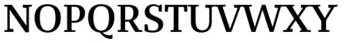 Bandera Text Medium Font UPPERCASE