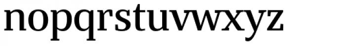 Bandera Text Medium Font LOWERCASE
