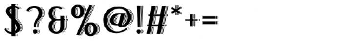 Bandoengsche Deco Font OTHER CHARS