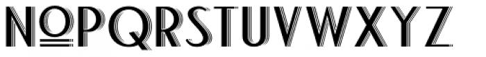 Bandoengsche Deco Font LOWERCASE