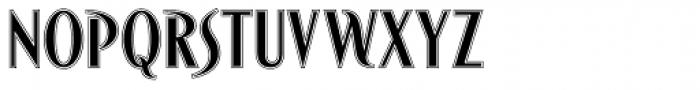 Bandolera Font UPPERCASE