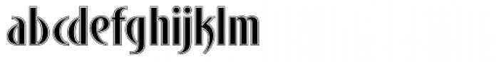 Bandolera Font LOWERCASE