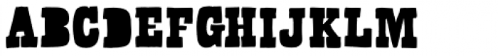 Bandoliers Dizzy Font UPPERCASE