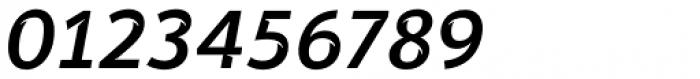 Banjax Notched Medium Italic Font OTHER CHARS