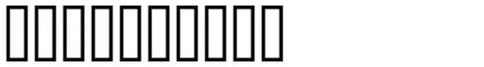 Bank Border B Font OTHER CHARS
