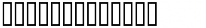 Bank Border B Font LOWERCASE