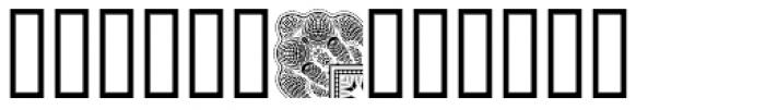 Bank Border D Font LOWERCASE