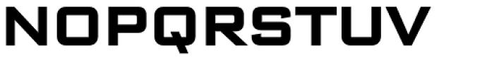 Bank Sans Caps Bold Font UPPERCASE